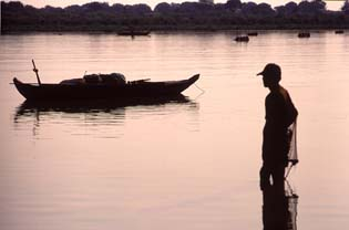 Tonle Sap fisherman, near Siem Reap