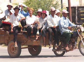 Local transport, Cambodia