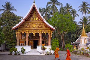 Laos Pagoda