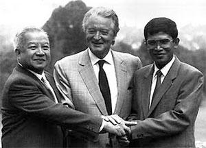 sihanouk-hun-sen