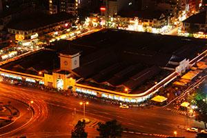 Ben Thanh market, Ho-Chi-Minh