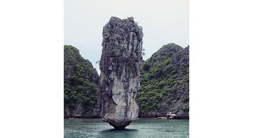 A limestone karst