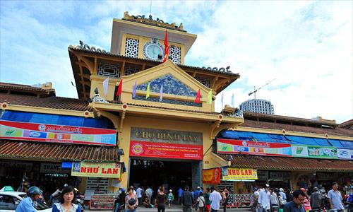 Binh Tay Market in Cho Lon area
