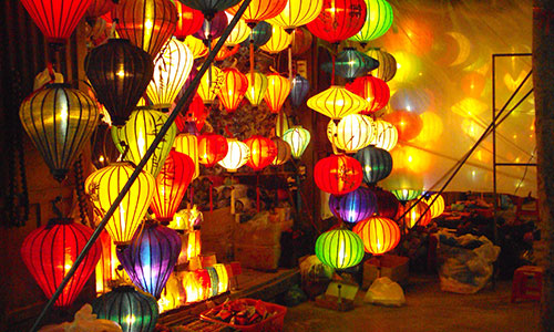 Lanterns at the Central Market