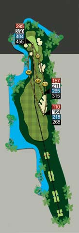angkor golf hole 14