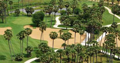 2nd Hole - Angkor Golf