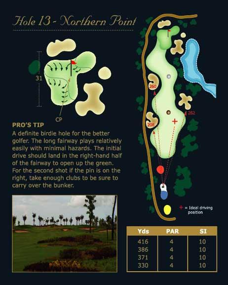 phokeethra golf hole 13