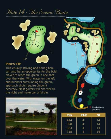 phokeethra golf hole 14