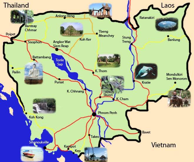 Malaria Kambodscha Karte.Kambodscha Reiseführer Zuverlässige Reiseführer Von Aboutasia