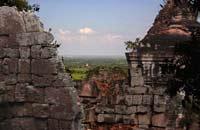 phnom chisor view, takeo