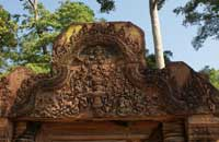 banteay srei lintel carvings