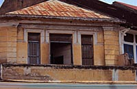 battambang old french colonial buildings