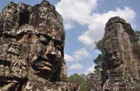 Angkor temples - Bayon, Siem Reap