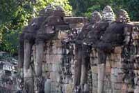 angkor thom - elephant terrace