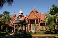kambodschanischen Nationalmuseum in Phnom Penh