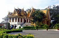 phnom penh attractions - silver pagoda, royal palace