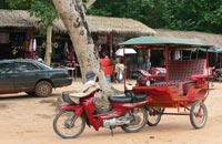 siem reap attractions - tuk tuks