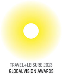 Travel & Leisure Global Vision Award 2013
